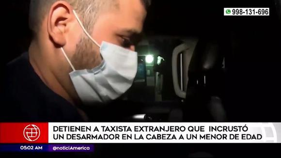 Taxista atacó con un desarmador a menor de edad en Carabayllo