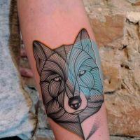 Guia Tatuagem: Tatuagem de lobo - significados e inspirações