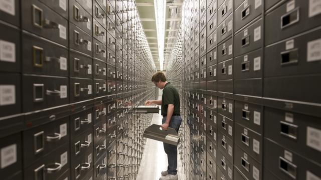 Granite Mountain Records Vault