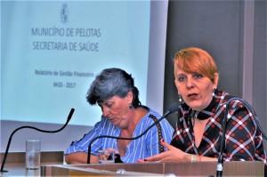 Ana Costa estará hoje na Câmara de Vereadores