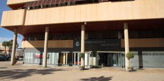 fachada Ayuntamiento Santa Pola