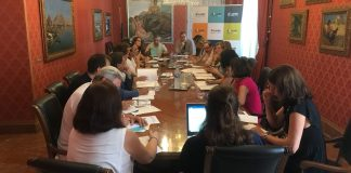 mesas de trabajo Diario de Alicante