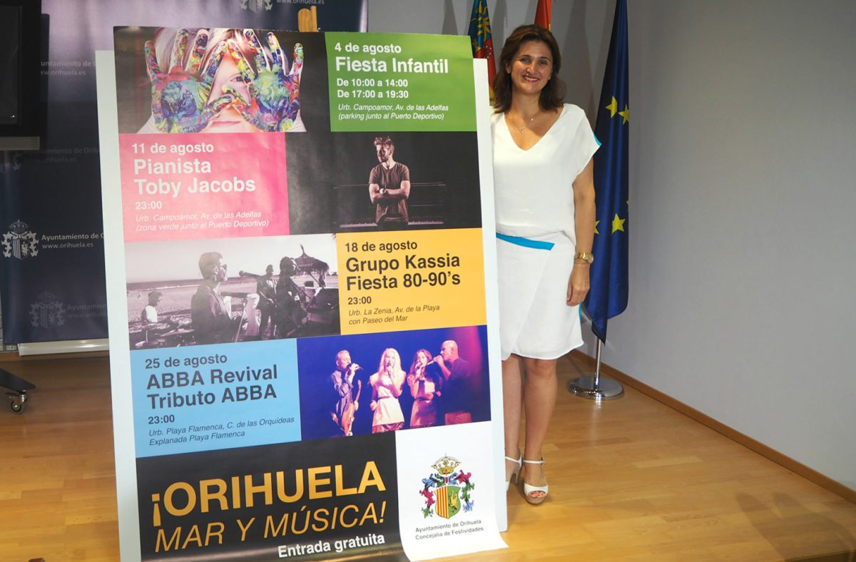 """""""Orihuela Mar y Música"""" ofrece un concierto gratuito del Grupo Kassia este sábado en La Zenia"""