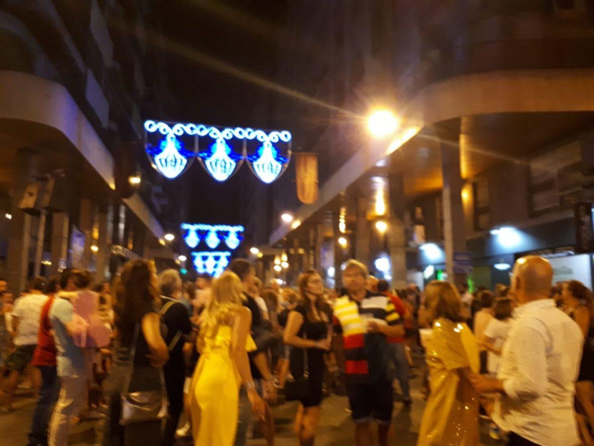 Varios jóvenes detenidos en Elche por robos durante las Fiestas de Agosto