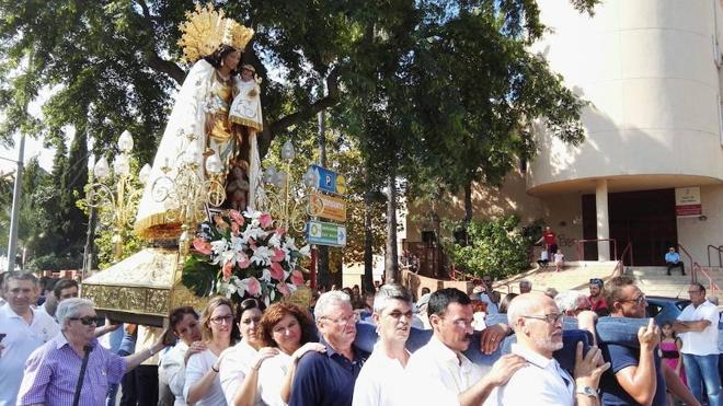 La imagen peregrina de la Virgen de los Desamparados visitará Benidorm