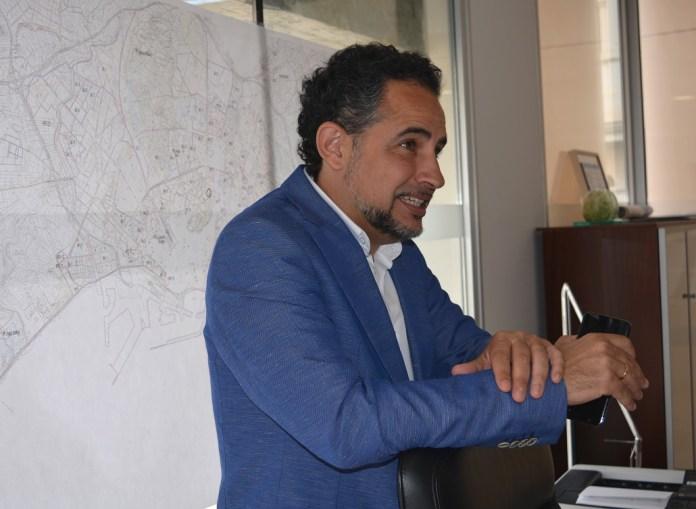 Israel Cortés, concejal de Infraestructuras del Ayuntamiento de Alicante.