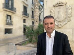 Natxo Bellido, líder y alcaldable de Compromís en Alicante/ Compromís Alacant.