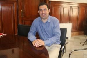 Toni Francés, alcalde de Alcoy en funciones.