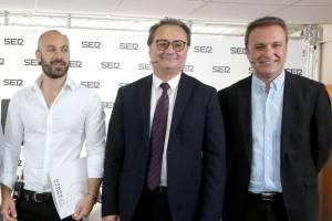 Xaxi Lopez, Sanguino y Bellido en el debate electoral de la Ser /SER Alicante