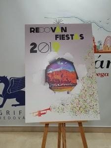 Cartel oficial de las fiestas 2019 en Redován / Alex Ferrer