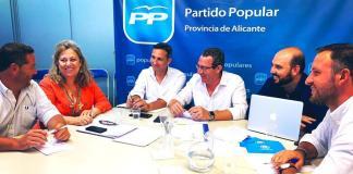 Reunión de los diputados y senadores alicantinos del Partido Popular / PP Alicant