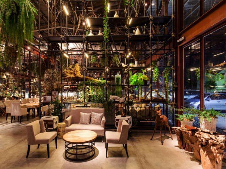 Restaurante Vivarium, en Bangkok