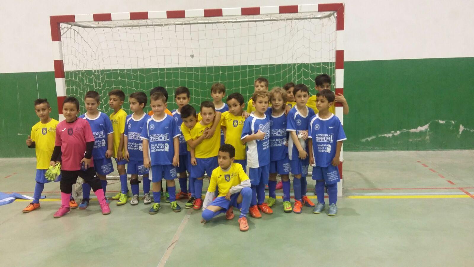 01 Fútbol Sala – C. F. Jaraíz – Imágenes de Archivo