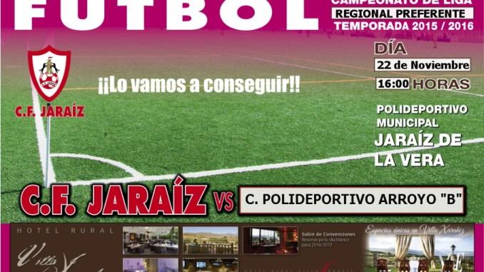 C.F. Jaraíz vs C. Polideportivo Arroyo B
