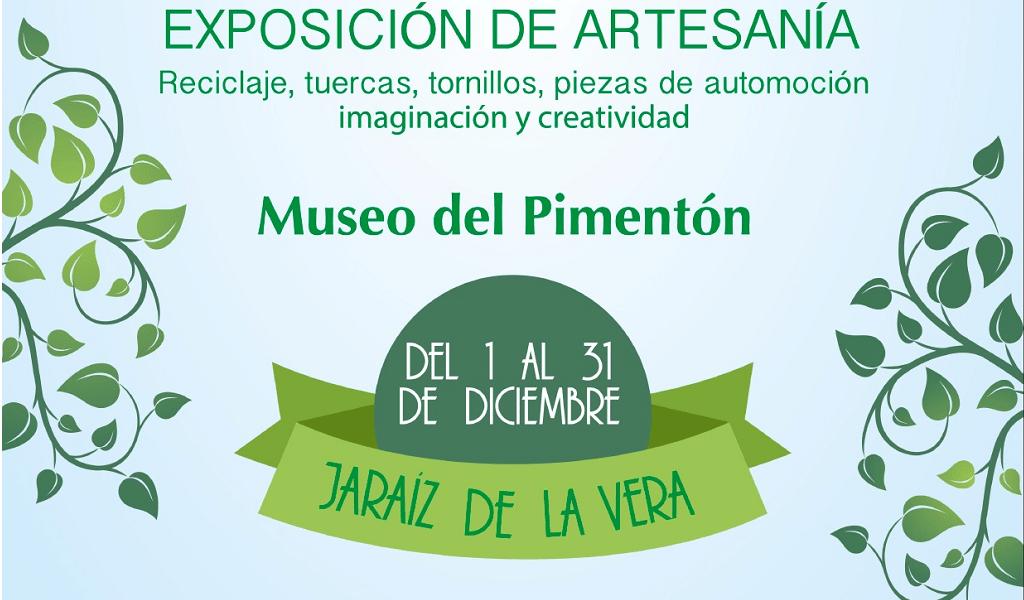 Exposición de Artesanía – Museo del Pimentón de Jaraíz de la Vera