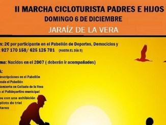 II Marcha Cicloturisma Padres e Hijos Domingo 6 de diciembre 2015