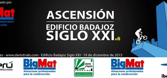 Darío Castañares ascenderá el Edificio Badajoz Siglo XXI
