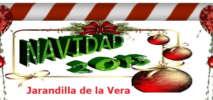 Programa de actividades de Navidad en Jarandilla de la Vera