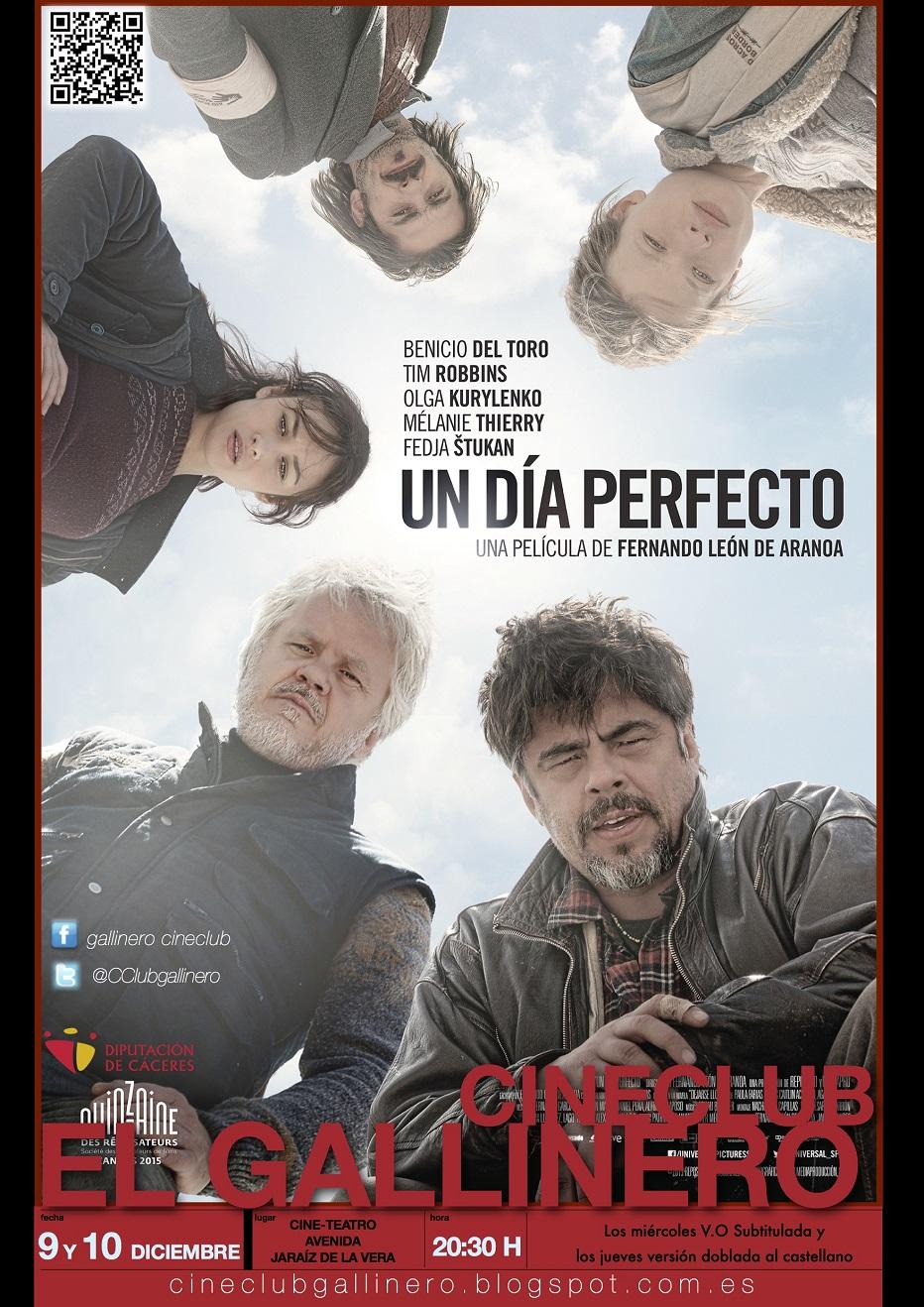 Cineclub El Gallinero | Un Día Perfecto (A Perfect Day)