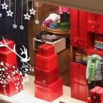 Viste tu escaparate de Navidad