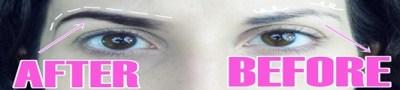 Maquillar las cejas