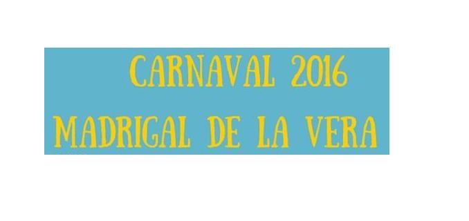 Programación del Carnaval de Madrigal de la Vera