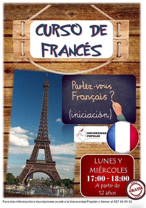 Clases gratuitas de Francés