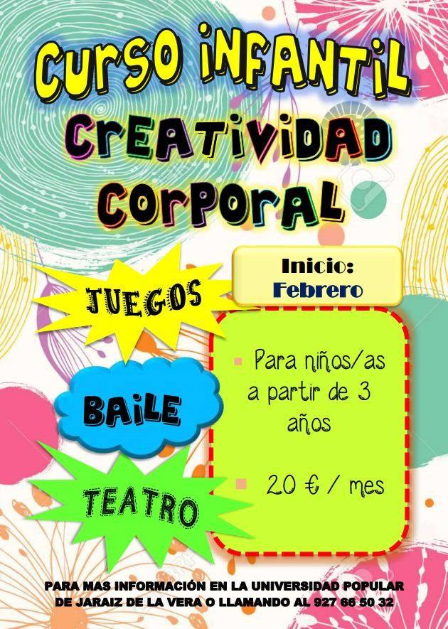 Curso Infantil de Creatividad Corporal