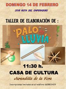 Taller Palo de Lluvia en la XVII Ruta del Emperador Carlos V 2016