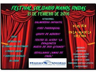 Festival Solidario Manos Unidas