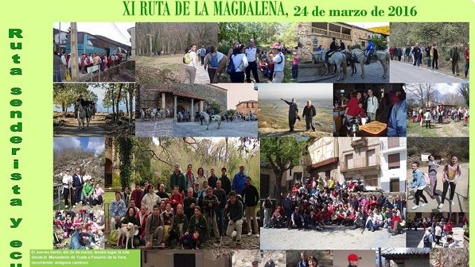XI Ruta de la Magdalena - Pasarón de la Vera