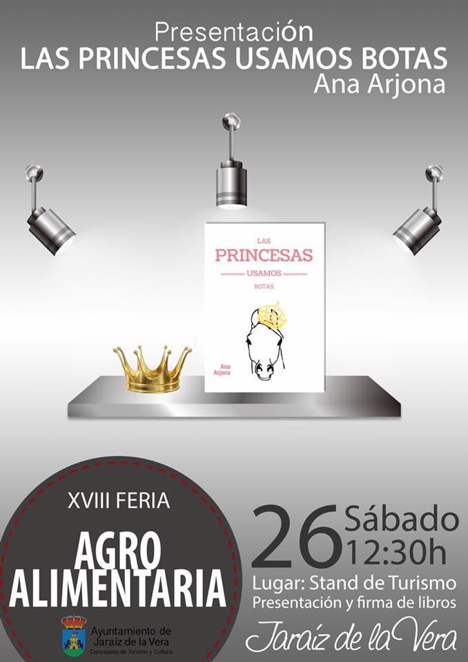 Las_Princesas_Usamos_Botas_ Feria_Agroalimentaria_Jaraíz