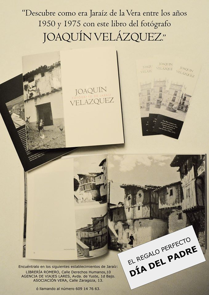 Libro Joaquín Velázquez – Fotógrafo de Jaraíz