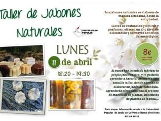 Nuevo Taller de Jabones Naturales en la Universidad Popular de Jaraíz