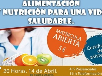 Alimentación y Nutrición para una vida Saludable