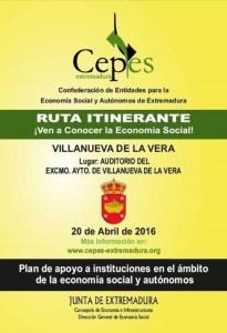 Cepes-Extremadura Ruta Itinerante.