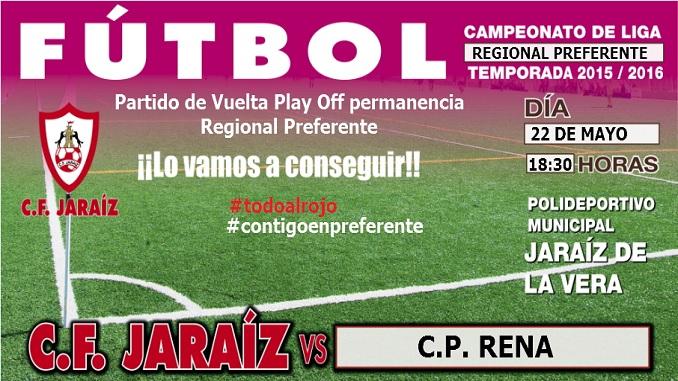 CF Jaraíz vs CP Rena