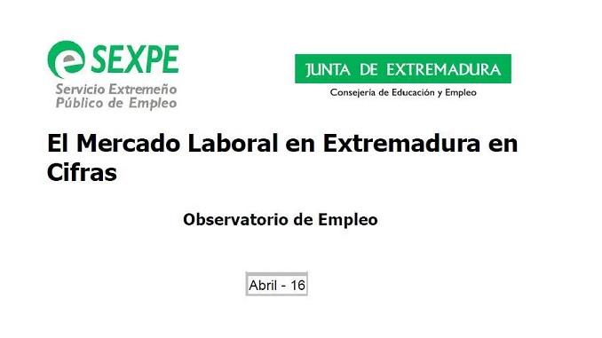 El Mercado Laboral de Abril en Extremadura y sus cifras