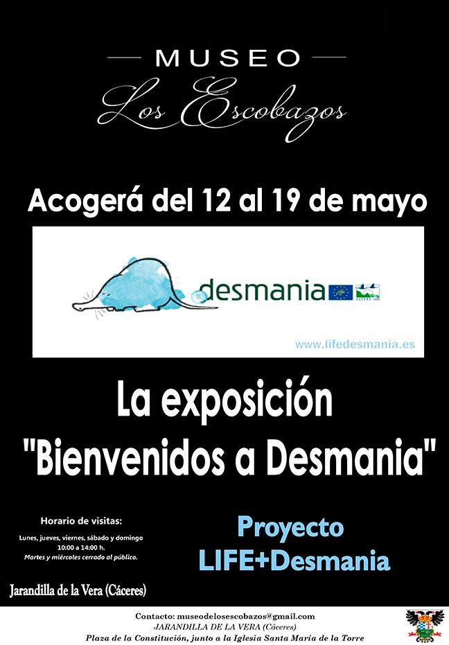 Exposición Bienvenidos a Desmania