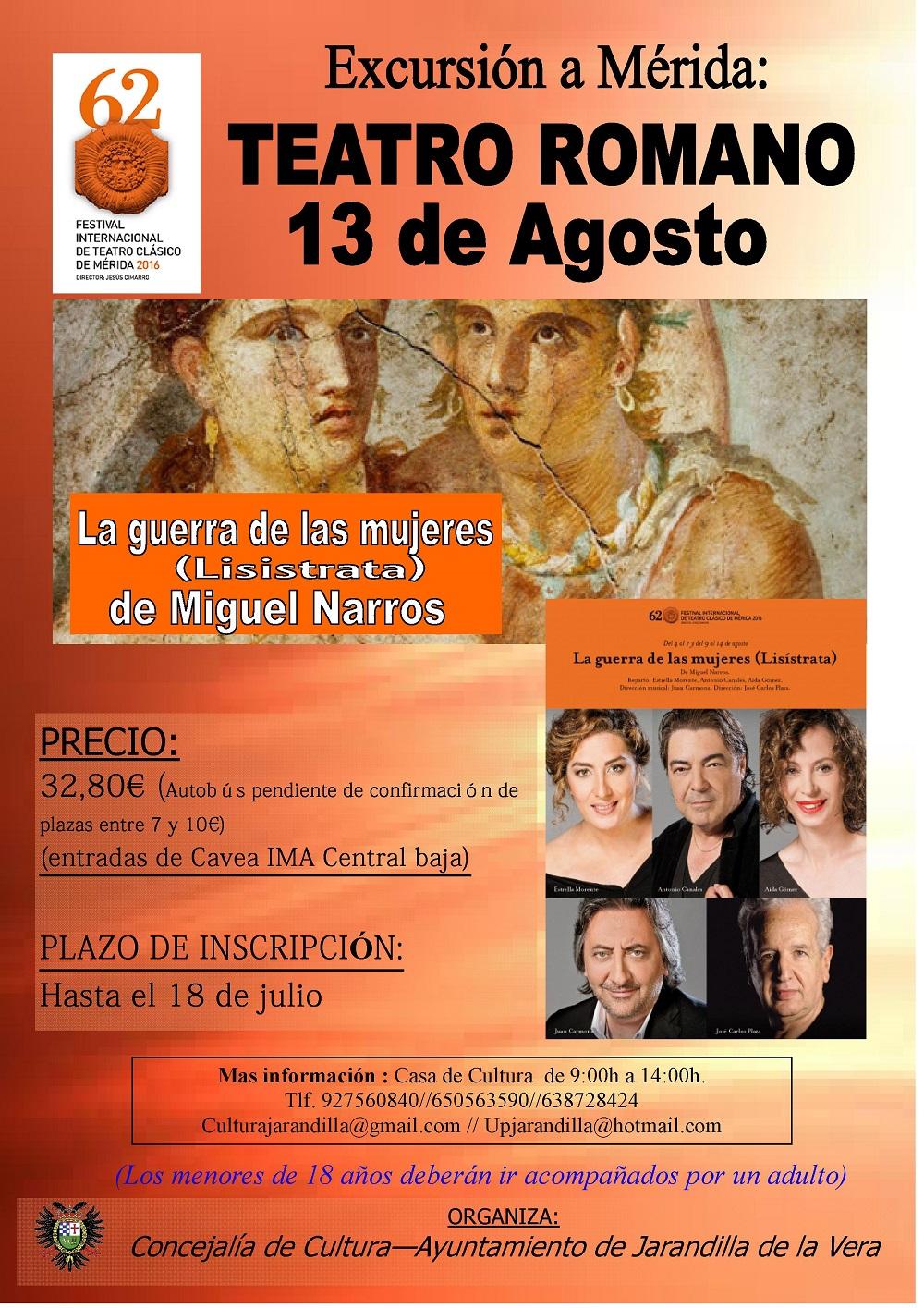 Festival Internacional de Teatro de Mérida 2016