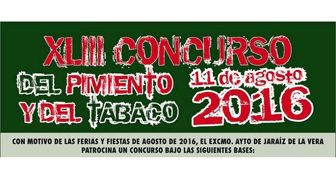 XLIII Concurso del Pimiento y del Tabaco - 11 de Agosto 2016