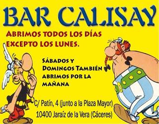 Bar Calisay – Jaraíz de la Vera