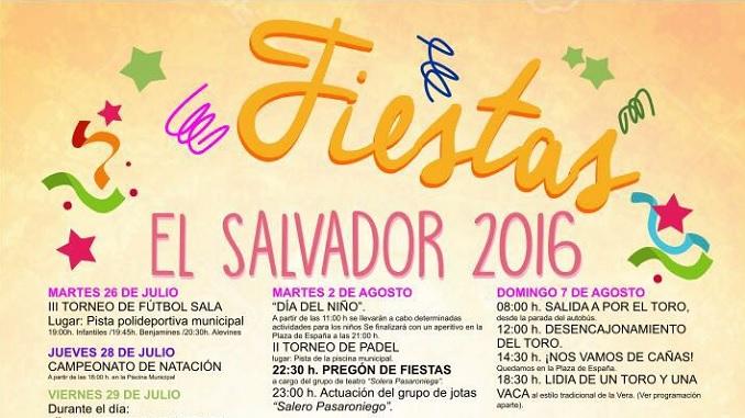 Fiestas El Salvador 2016 - Pasaron de la Vera