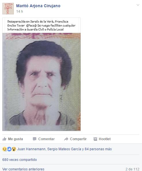 Maritó Arjona Cirujano - Francisca Enciso Tovar