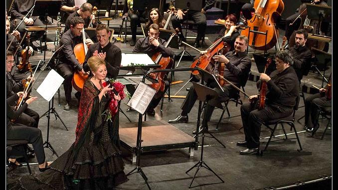 Concierto de Pilar Boyero y la OEX en el Gran Teatro de Cáceres