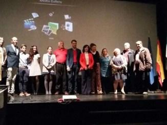 Acto de reconocimiento al IES. Maestro Gonzalo Korreas tras ganar el XXIX Certamen de Jóvenes Investigadores 2016
