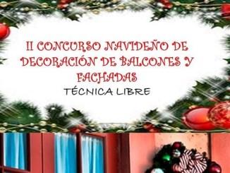 II Concurso Navideño de decoración de Balcones y Fachadas 2016