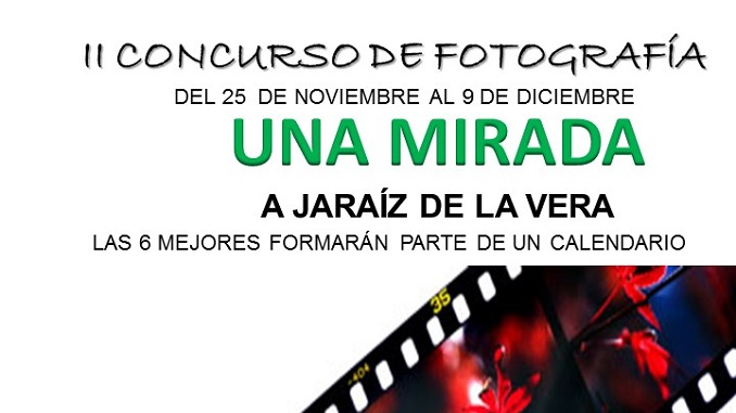 """II Concurso de Fotografía """"Una mirada a Jaraíz de la Vera"""" 2016"""