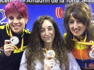 Loiada Zabala, Jordana de Haro y Amalia Ballesteros