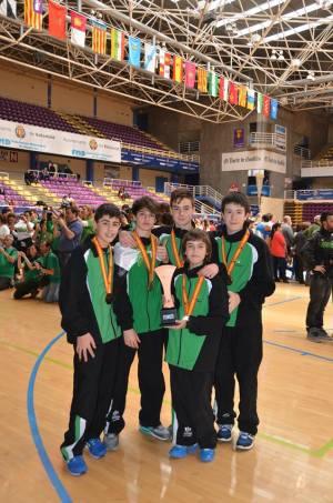 Jugadores del ADV Jaraíz seleccionados para la preparación para los campeonatos de España de selecciones autonómicas